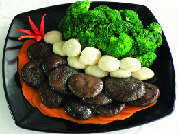 SSauteed Broccoli with Scallop